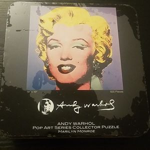 Andy Warhol Pop Art Series Marilyn Monroe Puzzle
